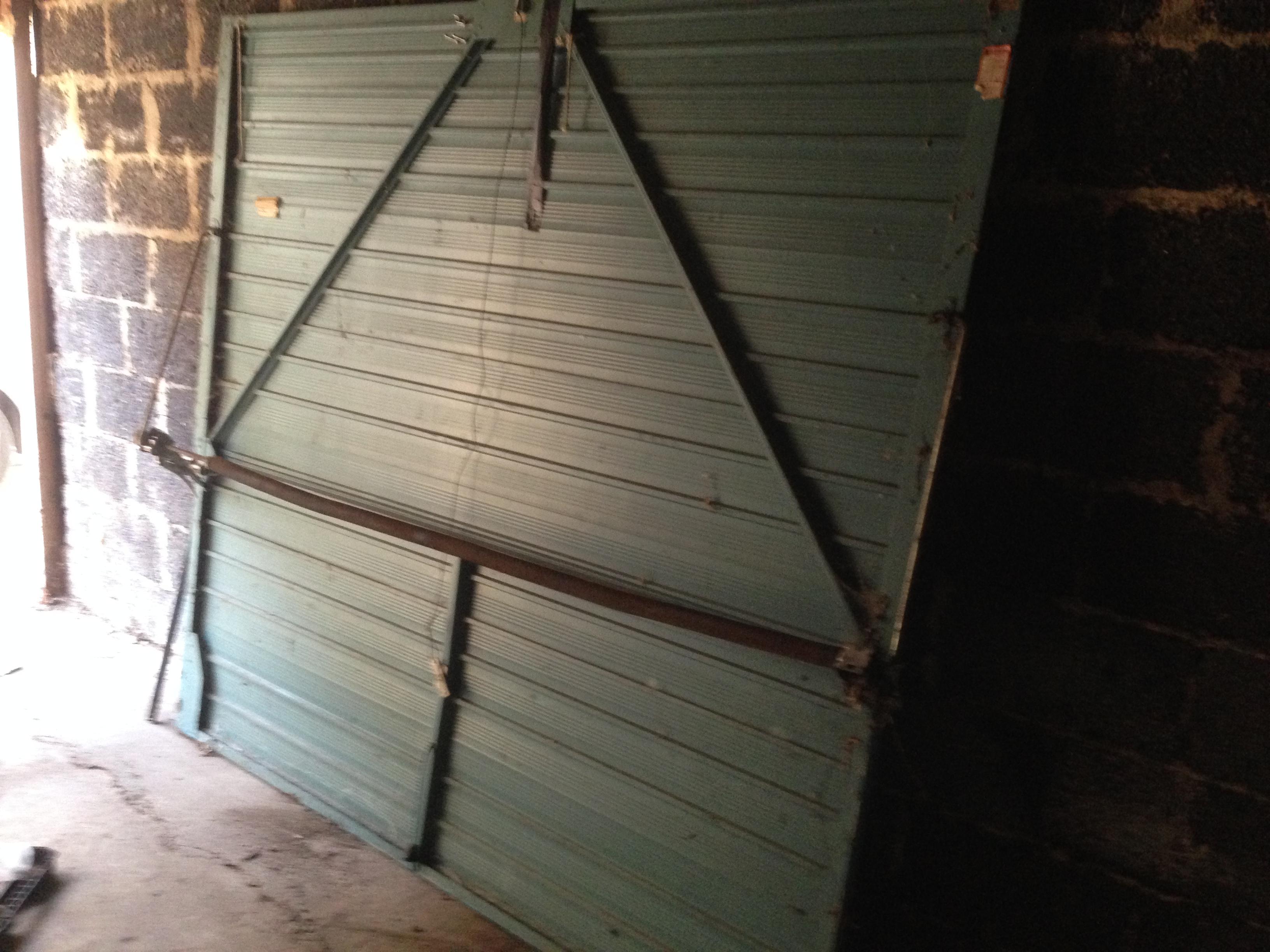 Row Of Garages In Dunstable Smart Doors